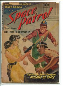 SPACE PATROL (1952 ZIFF DAVIS) #1 Fair A00422