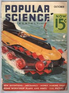 Popular Science 10/1935-Wittmack cover-submarines-flying trapeze-G