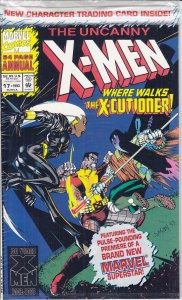Uncanny X-Men, The Annual #17 (with card) VF/NM; Marvel | save on shipping - det