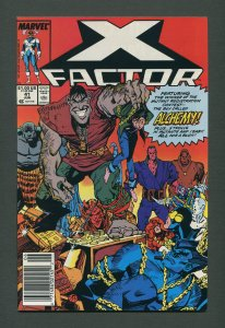 X-Factor #41  / 9.6 NM+ - 9.8 NM-MT /  Newsstand / June 1989