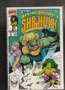 Sensational She-Hulk #21