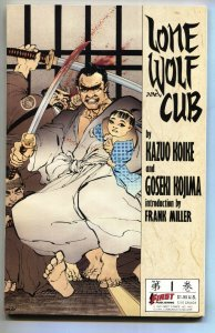 Lone Wolf and Cub #1 comic book-First-1987-Frank Miller VF/NM