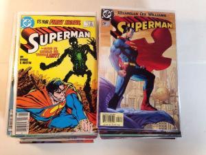 Superman 53 Book Near Mint Lot Set Run 0 1 2 78 82 100 166 204-215 Plus More