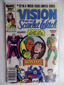 The Vision and the Scarlet Witch #12 (1986)