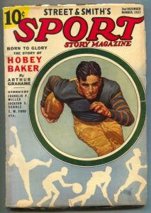 Sport Story Pulp 2nd December 1937- Hobey Baker VG/F