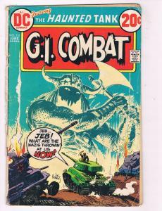 Gi Combat #161 GD DC Comics Bronze Age Comic Book Kubert June 1973 DE39 AD12
