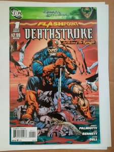 DEATHSTROKE #1 NM FLASHPOINT CURSE OF THE RAVAGER COMIC