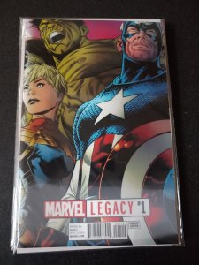 Marvel Legacy #1 (2017) Quesada Lenticular Marvel Comics
