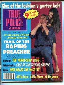 True Police Yearbook 1989-Clue Of The Lesbian's Garter- True Crime Magazine