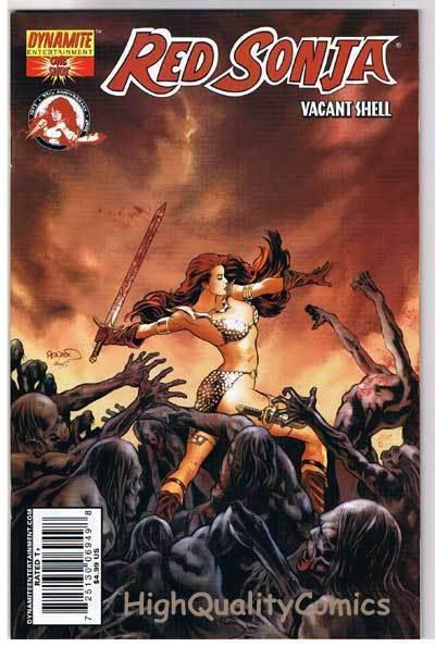 RED SONJA Vacant Shell #1, NM-, Robert E Howard, Rick Remender, more RS in store