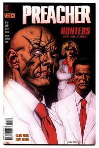 PREACHER #13 comic book HUNTERS-GARTH ENNIS/STEVE DILLON-1st Herr Starr
