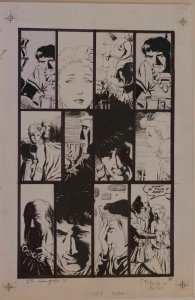BO HAMPTON original art, Uther or Viking Prince, 11x17, Signed, more in store