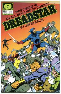 DREADSTAR #1 2 3 4 5 6-64 + Ann #1, VF/NM, 65 issues, 1982, Jim Starlin