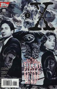 X-Files, The #8 VF/NM; Topps   save on shipping - details inside