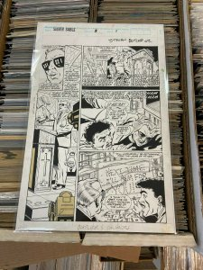 Silver Sable Book 2 Page 1 Steven Butler Original Art
