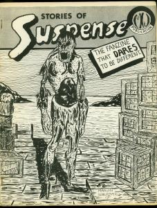 Stories of Suspense #3 1966- Marv Wolfman Horror Fanzine- Rare FN