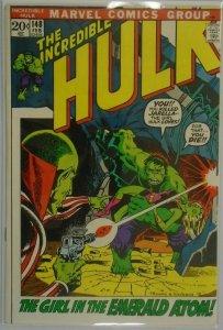The Incredible Hulk #148 - 7.0 FN/VF - 1972