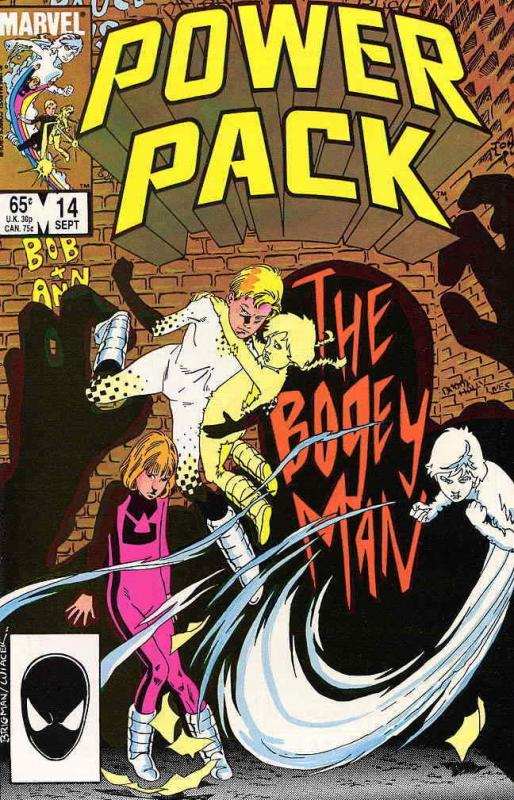 Power Pack #14 VF/NM; Marvel | save on shipping - details inside