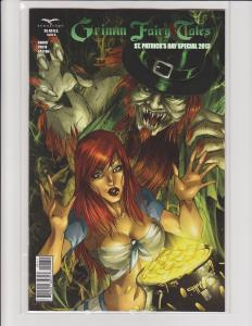 Grimm Fairy Tales St Patricks Day Special 2013 Cover A Zenescope GFT NM Cafaro