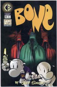 Bone #45 VF/NM; Cartoon Books | save on shipping - details inside