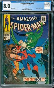 Amazing Spider-man #49 (Marvel, 1967) CGC 8.0 VF