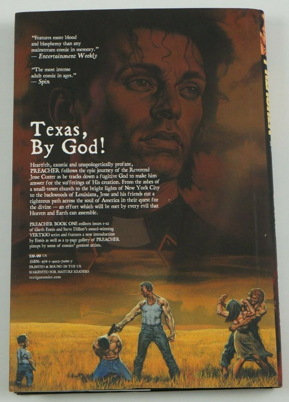 Preacher Book One HC Loot Crate Exclusive Edition garth ennis steve dillon 1-12