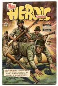 Heroic Comics #69 1951- FRAZETTA art- Golden Age VG