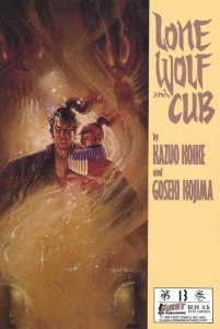 Lone Wolf and Cub #13 VF; First | save on shipping - details inside