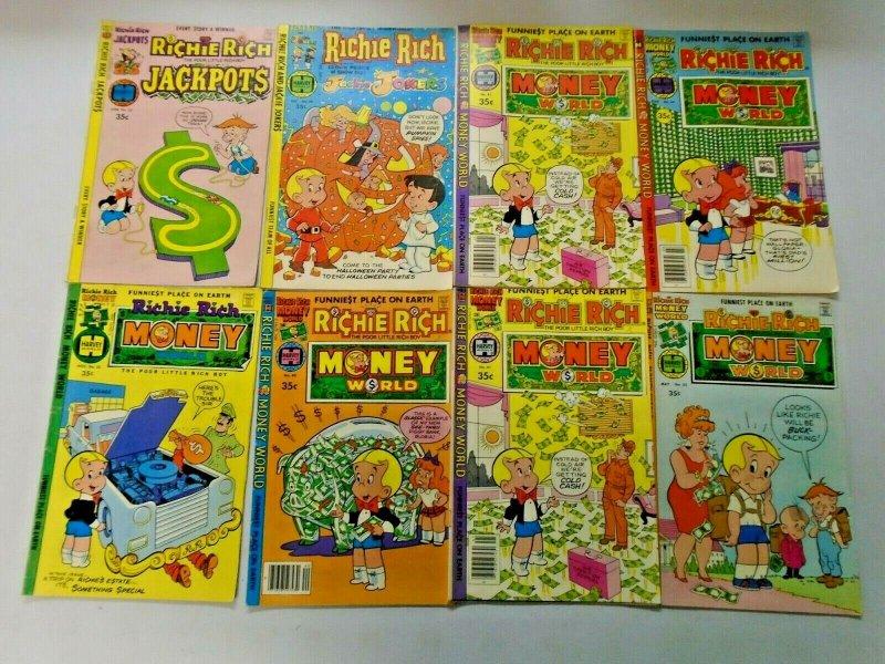 Richie Rich Harvey Comic Lot 35¢ Covers 50 Different Average 5.0
