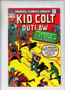 Kid Colt Outlaw #173 (Aug-73) VF High-Grade Kid Colt