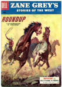 Zane Grey's Stories of the West #27 1955- Dell Western- VG