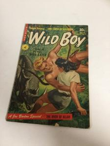 Wild Boy 1953 No 8 Vg/Fn Very Good/Fine 5.0