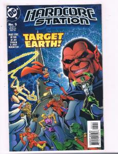 Hardcore Station #5 VF DC Comics Comic Book Starlin DE14