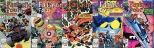 FANTASTIC FOUR 337-341  5-PART STORY ARC