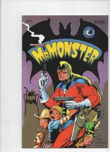 MR MONSTER #2, Signed by Dave Stevens, NM, Doc Stearn, 1985,more DS in store