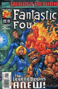 FANTASTIC FOUR (1998) 1,2(BOTH),3-7 THE SET!