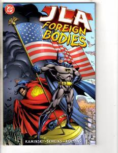 5 JLA DC Comics Foreign Bodies Planetary Destiny Working Week Trinity 1  J260