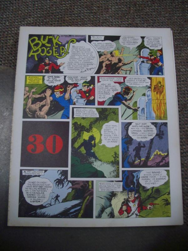 BUCK ROGERS #30-ITALIAN SUNDAY STRIP REPRINTS-CALKINS FN