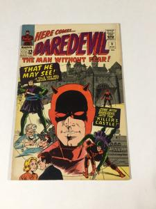 Daredevil 9 6.5 Fn+ Fine + Marvel Silver Age