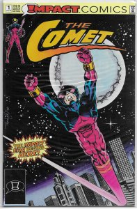 Comet (Impact, 1991) # 1 FN Waid/Lyle