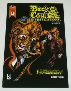 Beck & Caul Investigations #4; SIGNED by Chaney + Kowalski + Neeb - Gauntlet