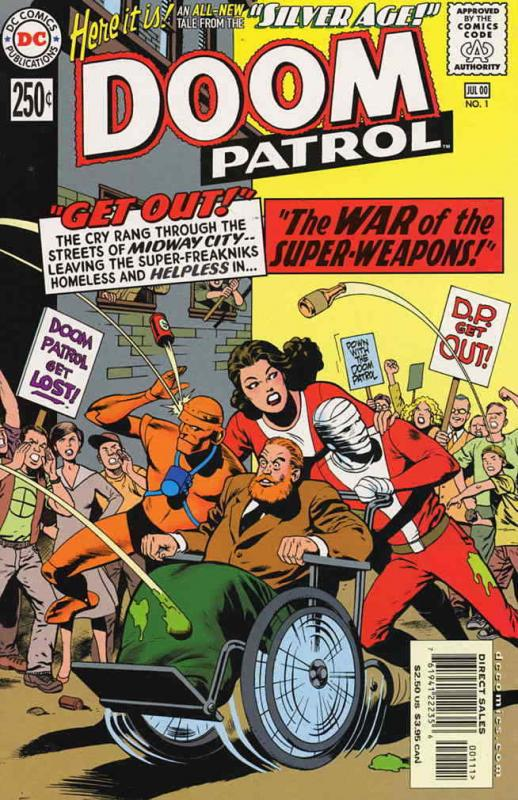 Silver Age: Doom Patrol #1 VF/NM; DC | save on shipping - details inside