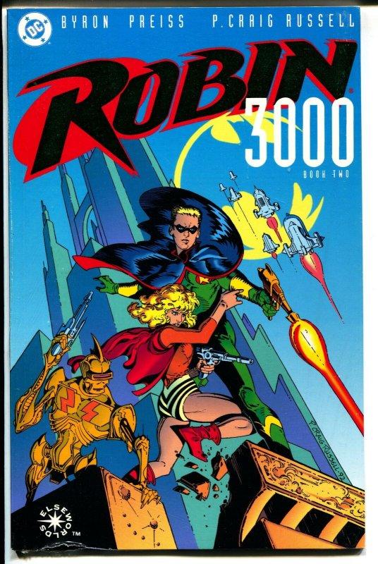 Robin 3000-Book 2-Byron Preiss-Sealed