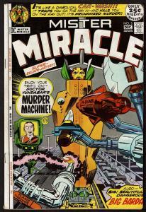 Mister Miracle #5 (Nov-Dec 1971, DC) FN