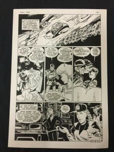Captain Cosmos Page 40 Original Art Joe Stanton Nicola Cuti Space Opera