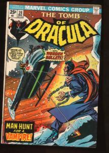 Tomb of Dracula (1972 series) #20, VF- (Actual scan)