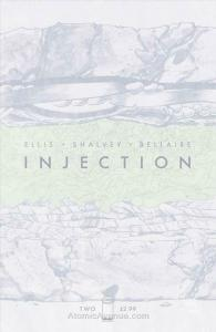 Injection #2B VF; Image | save on shipping - details inside