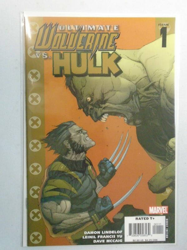 Ultimate Wolverine vs. Hulk #1A 8.5/VF+ (2006)