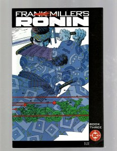 Lot Of 6 Ronin DC Comic Books # 1 2 3 4 5 6 Frank Miller Samurai GK34