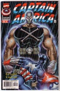 Captain America   vol. 2   # 3 VF (Heroes Reborn)